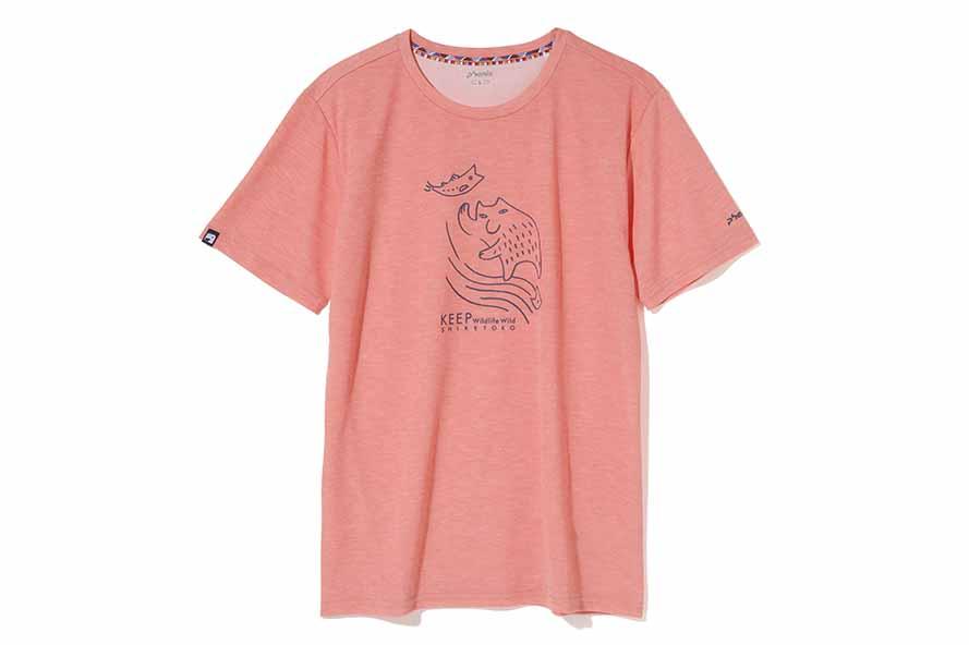 共同開発したTシャツ