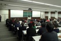 北海道科学大学で講演しました