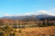 防鹿柵の冬支度