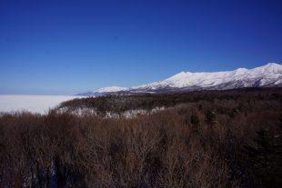 知床連山から岬まで見渡せます
