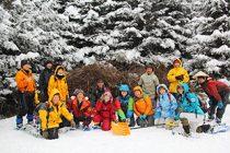冬の森づくりボランティア開催中