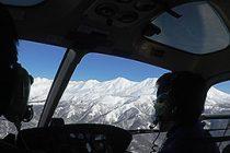 エゾシカ航空カウント調査に参加しました。