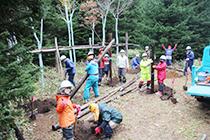 「第21回森づくりワークキャンプ」実施報告