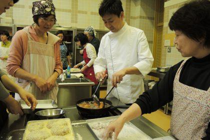 エゾシカ料理教室を開催しました