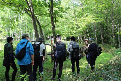 札幌科学技術専門学校の野外実習を行いました
