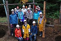 第26回森づくりワークキャンプ・秋 開催報告